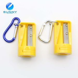 2015 Plastic Pencil Sharpener Jumbo Pencil Sharpener with Key Chain pictures & photos