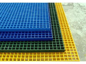 Pultruded Fibreglass Grating & Pultruded GRP Grating pictures & photos