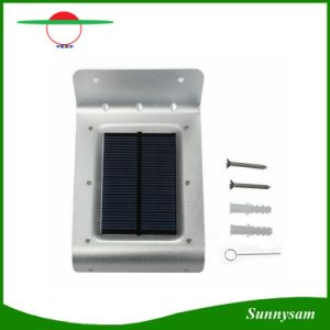 Outdoor LED Solar Light 16 LED for Garden Waterproof Lighting Motion Sensor Power Panel Luminaria Lamp pictures & photos