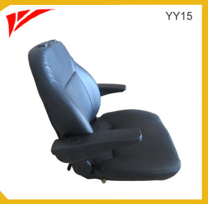 Construction Machinery Parts PVC Cover Excavator Seat (YY15) pictures & photos