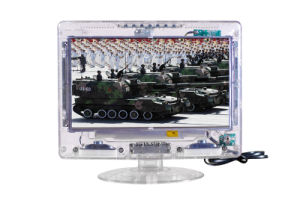 15.6 Inch Transparent LCD TV with Digital ATSC and Analog Tuner pictures & photos