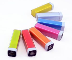 2200mAh Clasic Lipstick Shape 18650 Cell Power Bank Supply (PB-YD01) pictures & photos