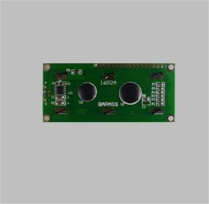 16X2 Character LCD Module Display with Yellow Green Background pictures & photos