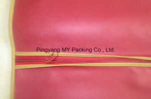 Customized Nonwoven Garment Cover with Zipper pictures & photos