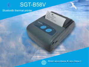Mini Bluetooth Mobile Thermal Printer (SGT-B58V) pictures & photos
