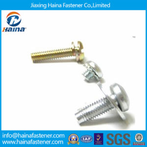 High Quality Zinc Plated Assembled Screw (Screw & Washer) pictures & photos