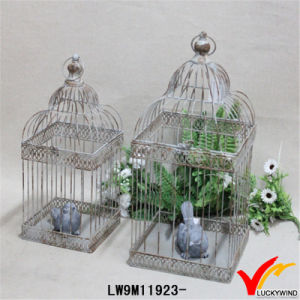 Wholesale Vintage Rustic Shabby Chic Decorative Metal Birdcage pictures & photos
