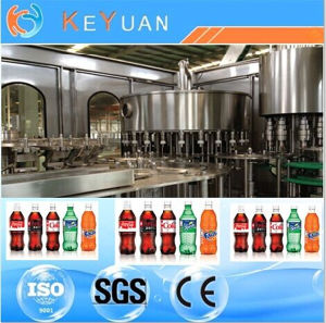 Carbonated Beverage and Soft Drinks Filling Machine pictures & photos