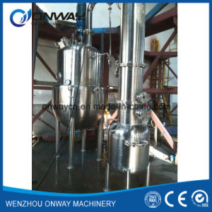 High Efficient Factory Price Stainless Steel Industrial Forced Circulating Evaporator Vacuum Orange Water Distillery pictures & photos
