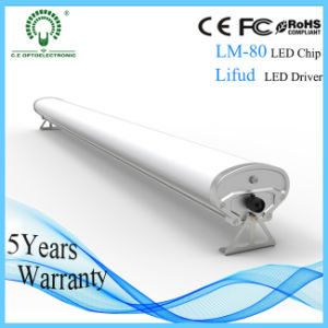 5feet 60W 2800-6000k LED Tri-Proof Tube Light with IP65