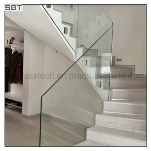 5mm 8mm 10mm Toughened Laminated Glass for Stair Railing pictures & photos