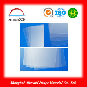 Lamination Inkjet Card 0.3mm Thickness Clear PVC Transparent Sheet pictures & photos