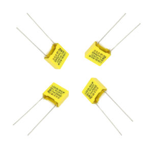 2016 Hot Sale Yellow 0.68UF 275VAC X2 Metallized Polypropylene Film Capacitor Tmcf18-2 pictures & photos