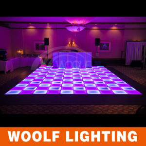 New Products Colorful Light up Dance Floor Illuminated Interactive LED Dance Floor pictures & photos