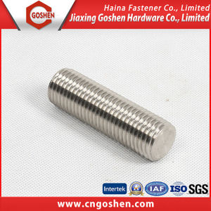 A193 Grade B7 Stainless Steel Thread Rod/Threaded Bolts pictures & photos