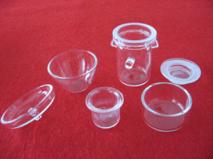 Clear Melting Quartz Crucibles with Cover pictures & photos