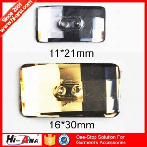 ISO 9001 Factory Various Colors Button Resin Rhinestone Flatback pictures & photos
