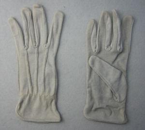 Grey Cotton Work Glove pictures & photos