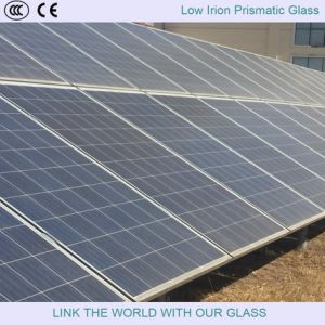 Solar Glass/Low Iron Prismatic Glass/4mm, 3.2mm Solar Glass pictures & photos