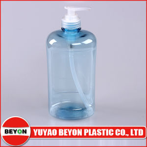 Big Capacity 600ml Colored Plastic Shampoo Bottle pictures & photos