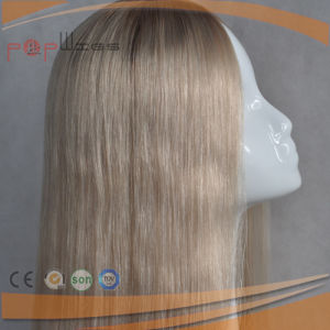 Long Skin Top Yaffa Human Remy Hair Women Wig pictures & photos