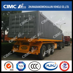 3axle Rear-Tipping Container Semi Trailer pictures & photos