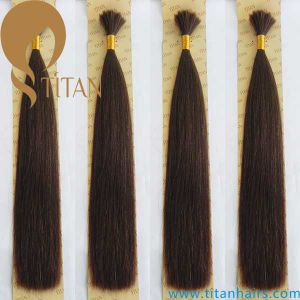 Wholesale Virgin Indian Hair Bulk Remy Human Hair pictures & photos
