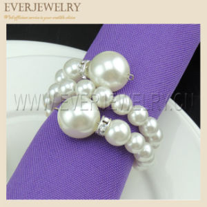 Cheap Pearl Napkin Ring for Dinner Party pictures & photos
