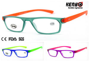 Fashion Square Frame Reading Glasses, CE FDA Kr5130 pictures & photos