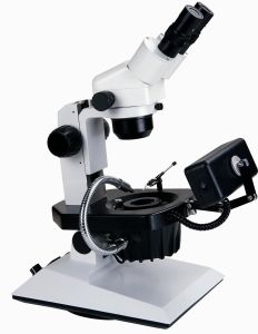 Hzb-2-R 7.5X-50X Gem/Jewelry Zoom Stereo Microscope pictures & photos