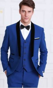 British Men Three-Piece Suit Cultivate One′s Morality Wind Youth Groom Wedding Suit Evening Dress pictures & photos