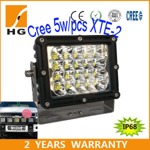 CREE off Road 8inch 100W Square LED Work Light for Jeep 4X4 Truck pictures & photos