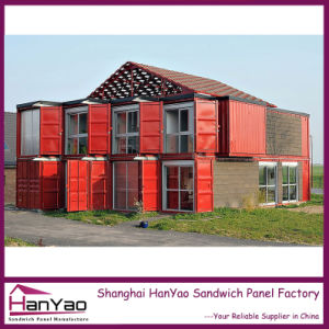 High Quality Customized Luxury Steel Structure Container House pictures & photos