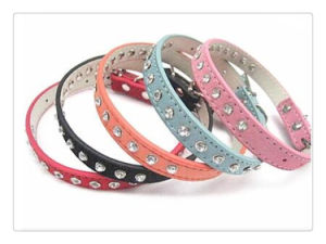 Rhinestone Dog Collar and Leash pictures & photos