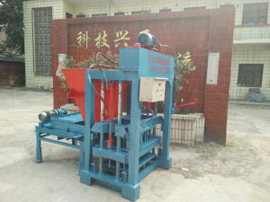 Hydraulic Automatic Concrete Block Making Machine Cement Brick Making Machinery with Mixer and Conveyor pictures & photos