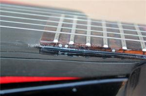 Hanhai Music / Flying V Black Left Handed Electric Guitar pictures & photos