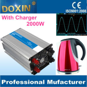 Heater 2000 Watts Pure Sine Wave UPS Inverter with Charger pictures & photos