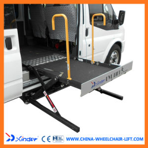 china ce scissor and hydraulic wheelchair lift for van and minibuswith