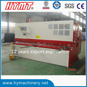 QC12Y-12X3200 Nc Control Hydraulic Swing Beam Shearing Machine pictures & photos