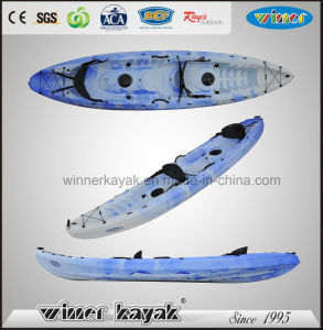 Double Person Plastic Fishing Kayak pictures & photos