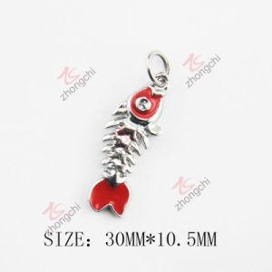 Fashion Zinc Alloy Enamel Metal Fish Bone Charm (SPE) pictures & photos