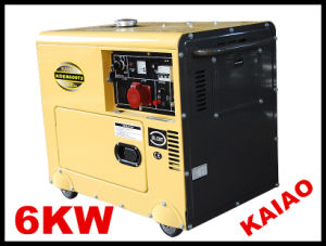 7.5kVA/6kw Stable Diesel Generator Low Noise pictures & photos