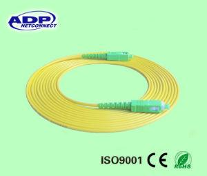 LC/UPC-LC/UPC Duplex OM3 50/125 Fiber Patch Cord pictures & photos