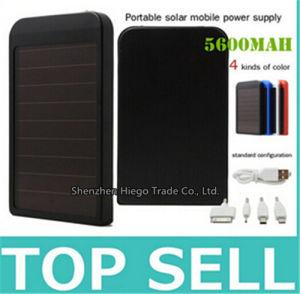 Solar Battery 5600mAh Mobile Phone Solar Power Bank pictures & photos