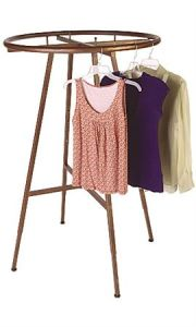 Boutique Cobblestone Round Clothing Rack Garment Rack for Display pictures & photos