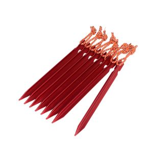 Carries Tent Stakes Ultralight Aluminum Camping Hiking Peg