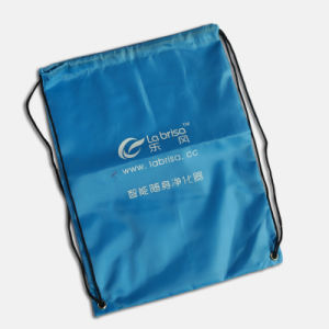 Polyester Sports Backpack with Drawstring pictures & photos