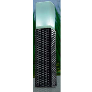 Solar Rattan Bollard Light with 2 White LEDs pictures & photos