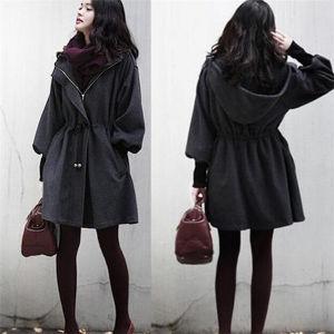 Women Warm Winter Coat Hood Parka Overcoat Long Jacket Outwear pictures & photos