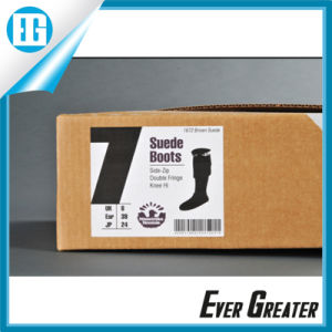 Customized Adhesive Shoebox Stickers for Advertising pictures & photos